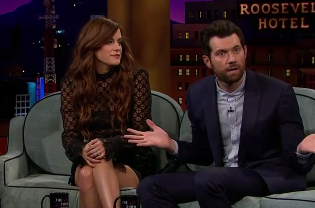 Riley Keough and Billy Eichner on The Late Late Show with James Corden