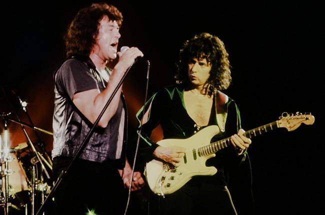 Ian Gillan and Ritchie Blackmore Deep Purple