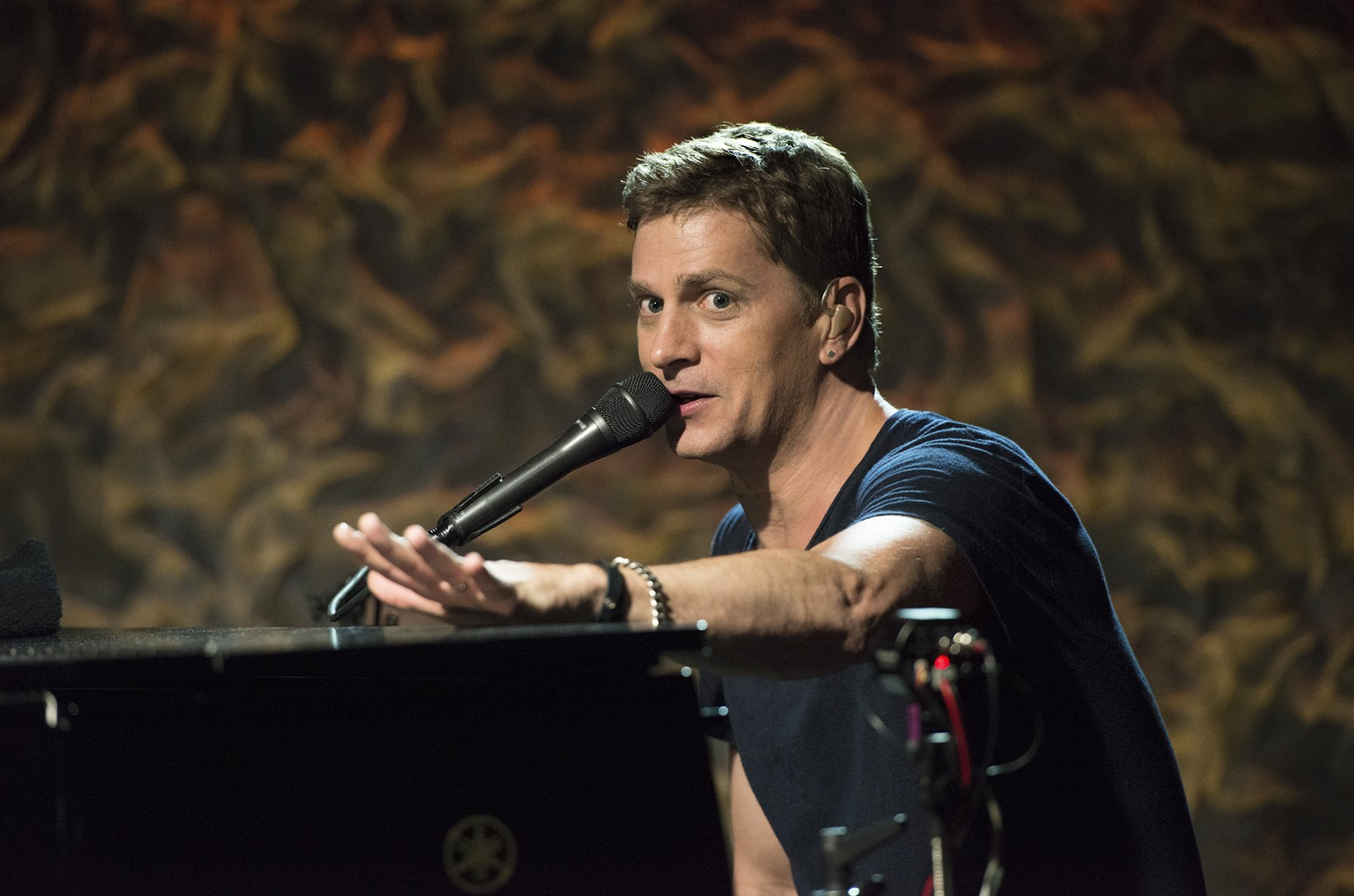 Rob Thomas performs at Iridium in New York City.