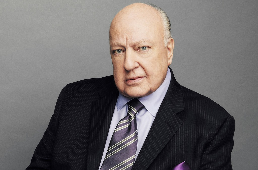 Roger Ailes photographed Nov. 13, 2015.