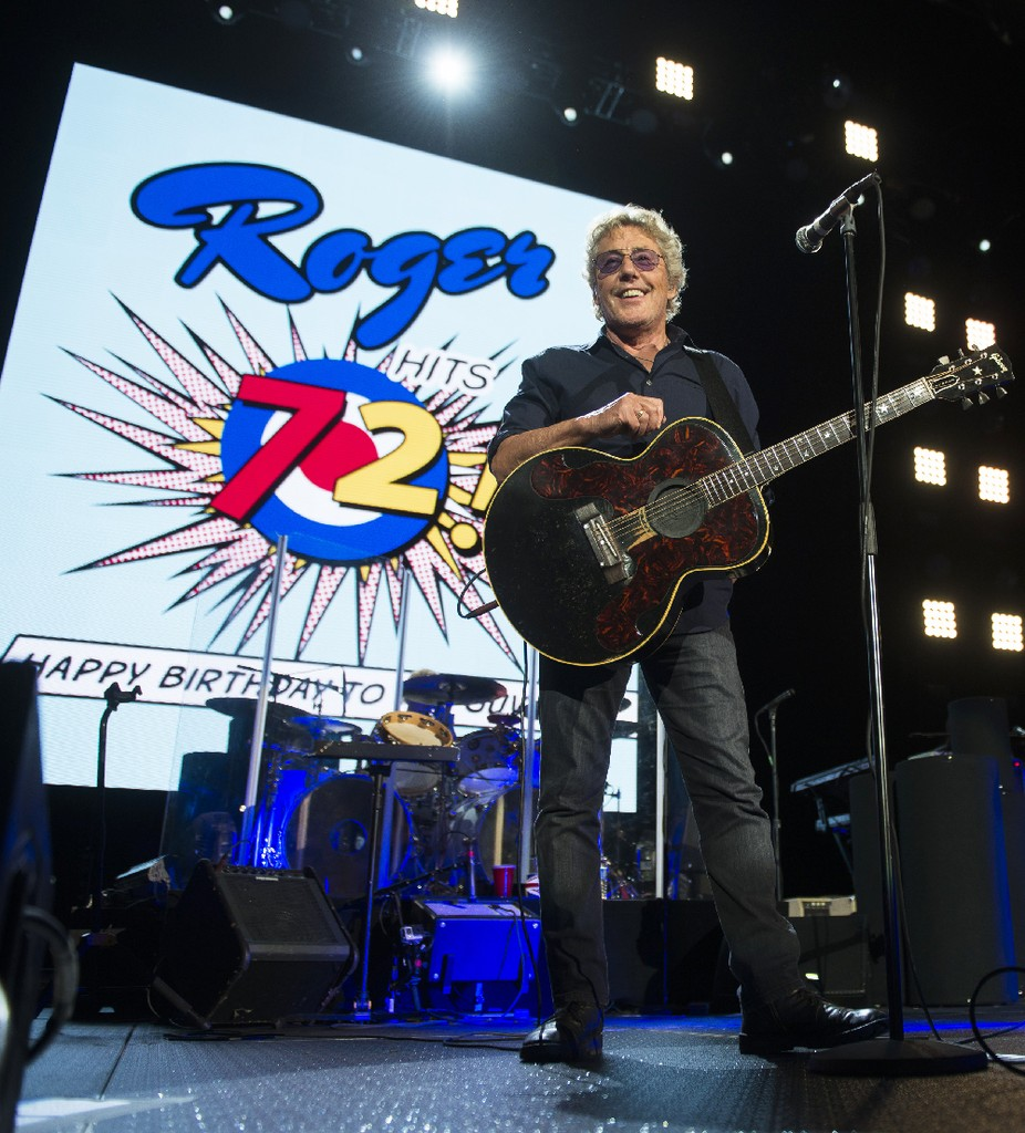 Roger Daltrey of The Who  2016
