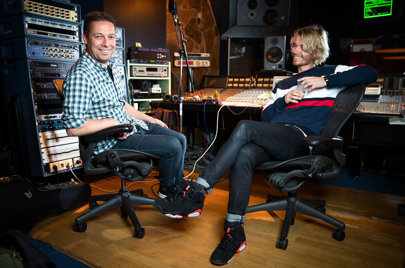 Roger de Graaf and Jorn Heringa of Spinnin' Record