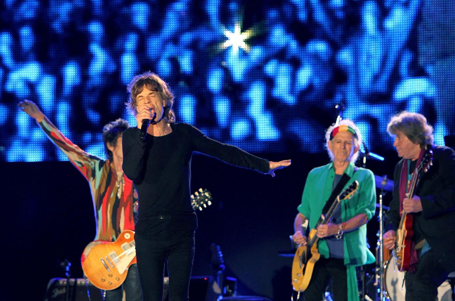 Mick Jagger performs on May 29, 2014.
