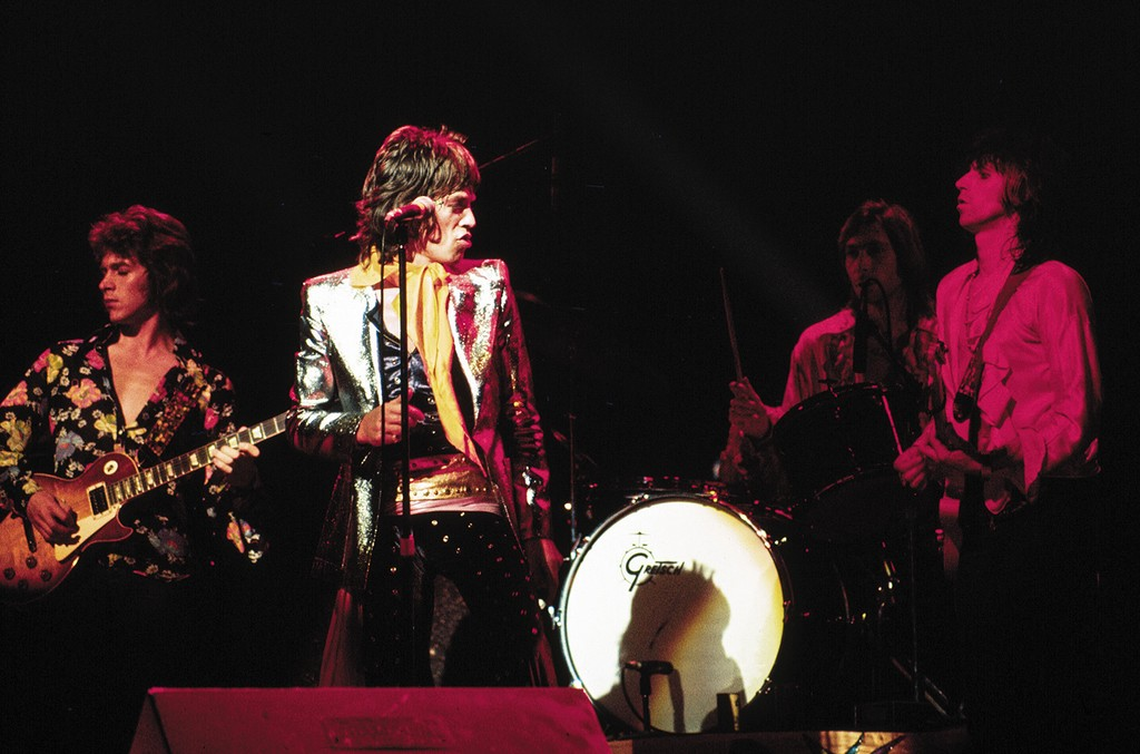 Mick Taylor, Mick Jagger, Charlie Watts and Keith Richards of the Rolling Stones