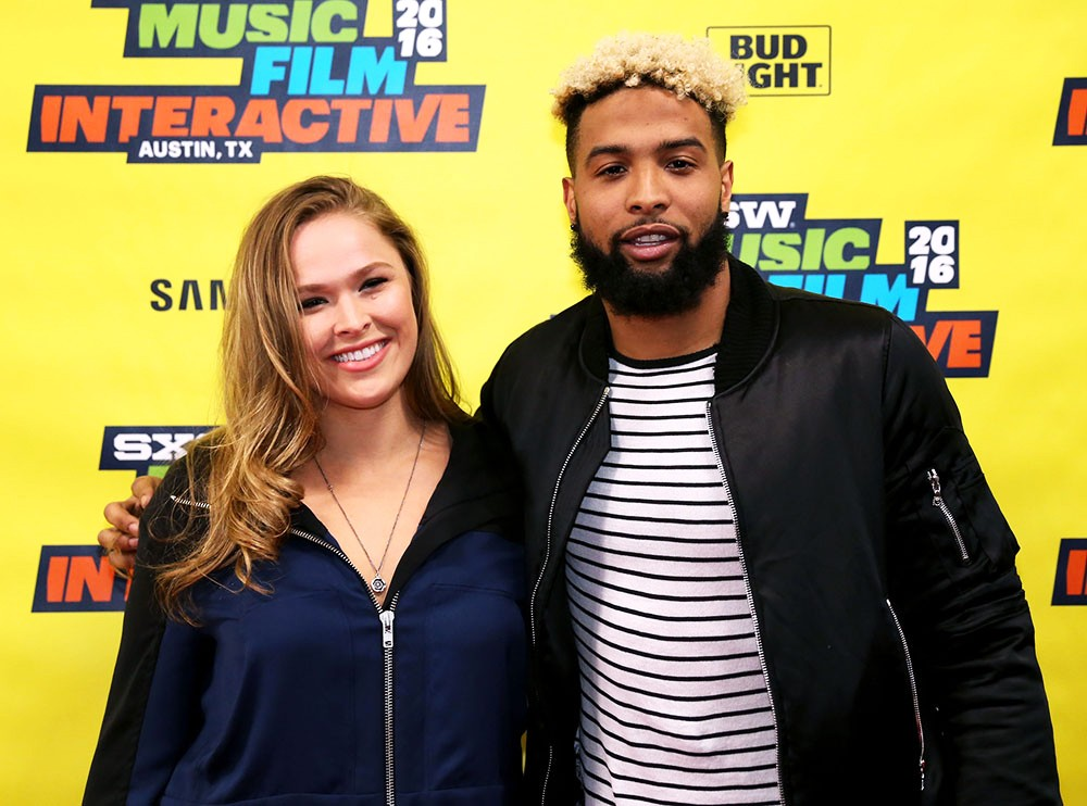 Ronda Rousey and Odell Beckham Jr., SXSW