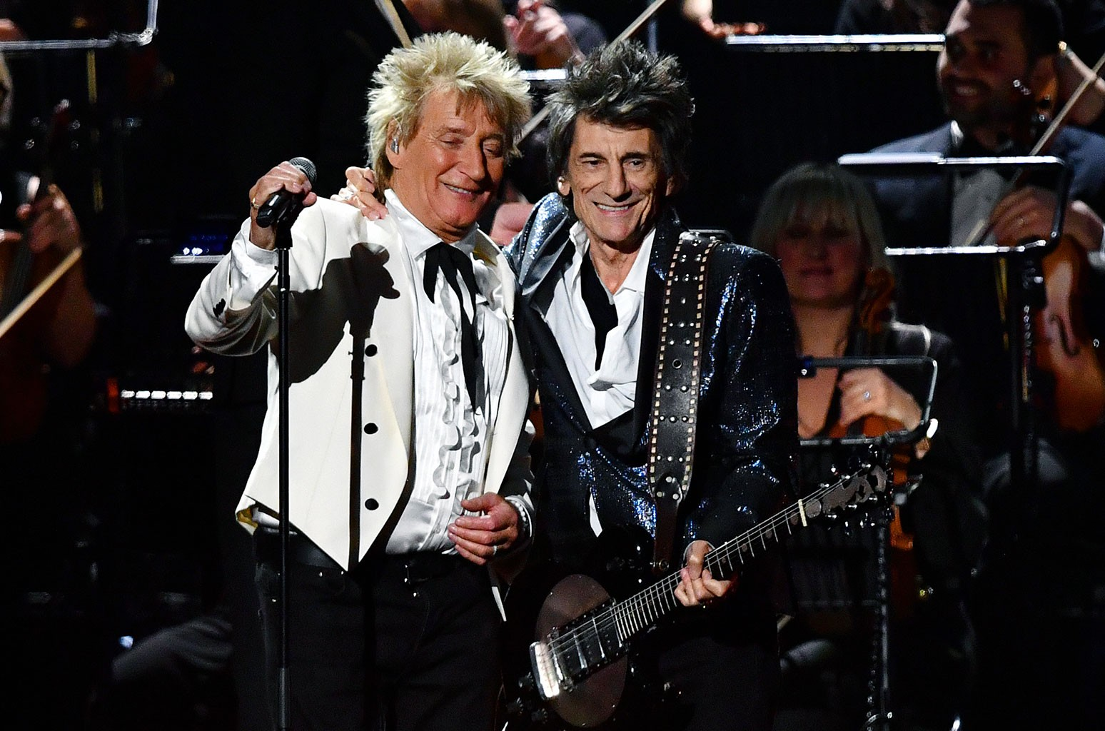 Rod Stewart Closes 2020 Brit Awards With Faces Reunion | Billboard