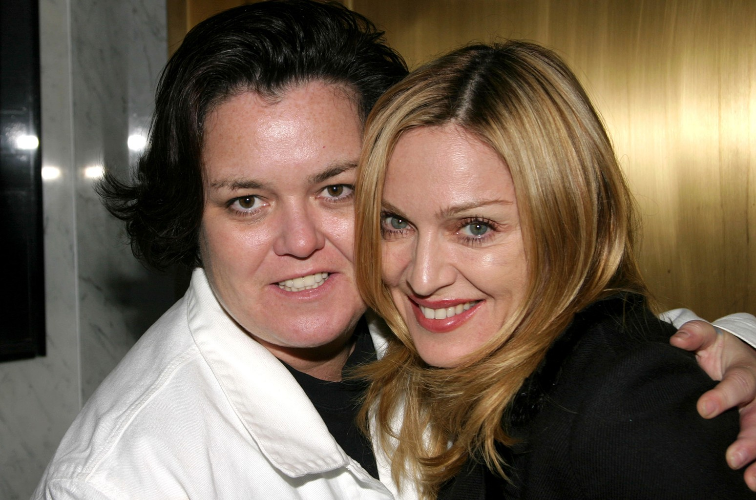 Rosie O'Donnell and Madonna