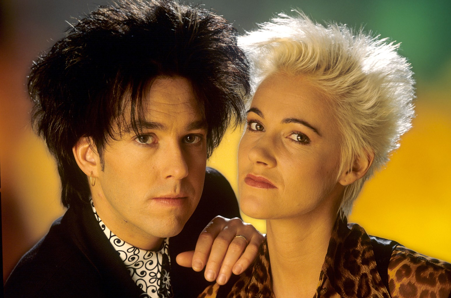 Per Gessle and Marie Fredriksson of Roxette