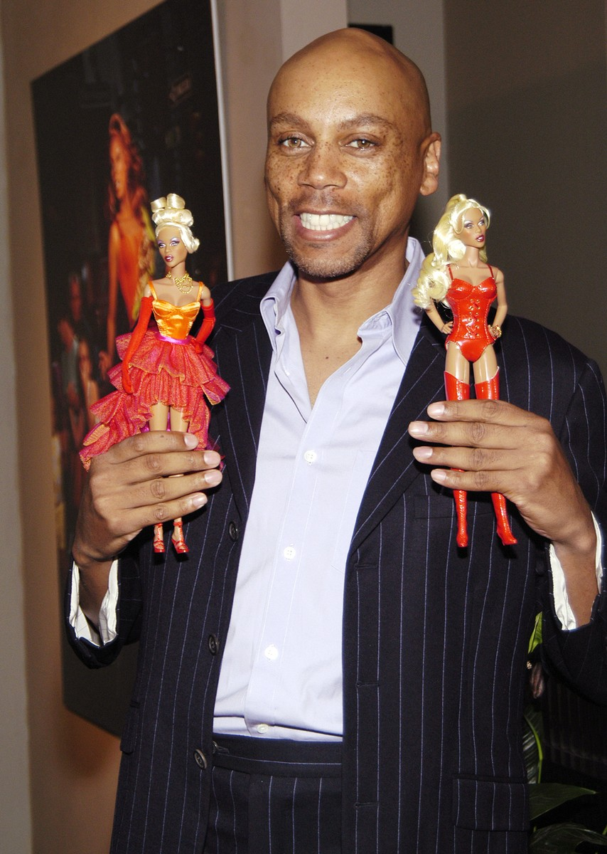 RuPaul launches his doll created by Jason Wu at Arcadia Gallery in New York City on Aug. 4, 2005.