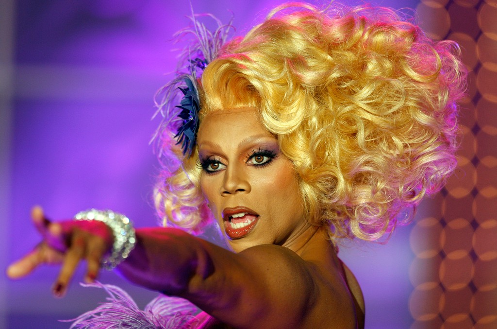 RuPaul takes the stage during the taping of RuPaul's Drag Race Season 2 on July 31, 2009 in in Culver City, Calif.