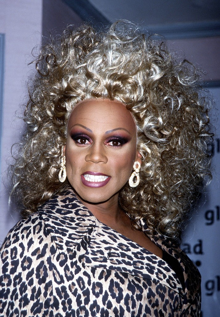 RuPaul attends the 10th Annual Glaad Media Awards Gala on March 28, 1999 in New York City.