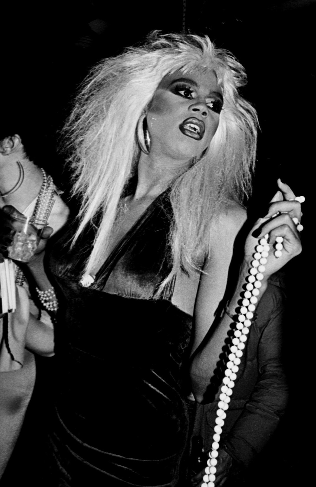 RuPaul at the Roxy in New York City in 1990.