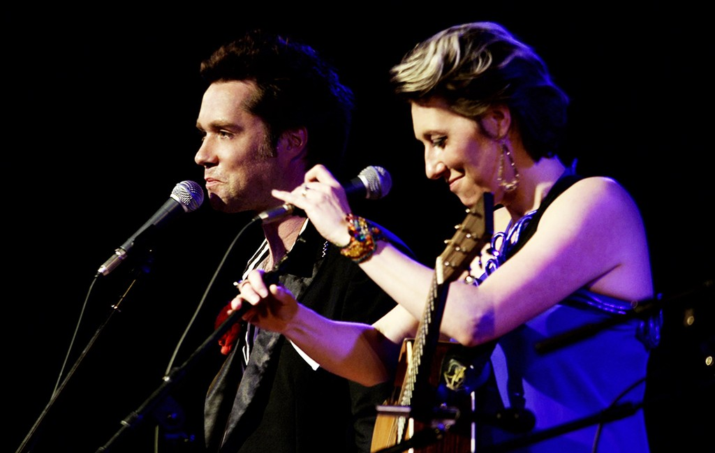 Rufus and Martha Wainwright photographed in 2012.