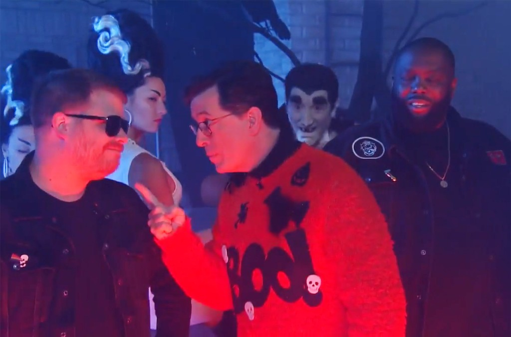 """Stephen and Run the Jewels Present """"The Halloween Wiggle"""""""