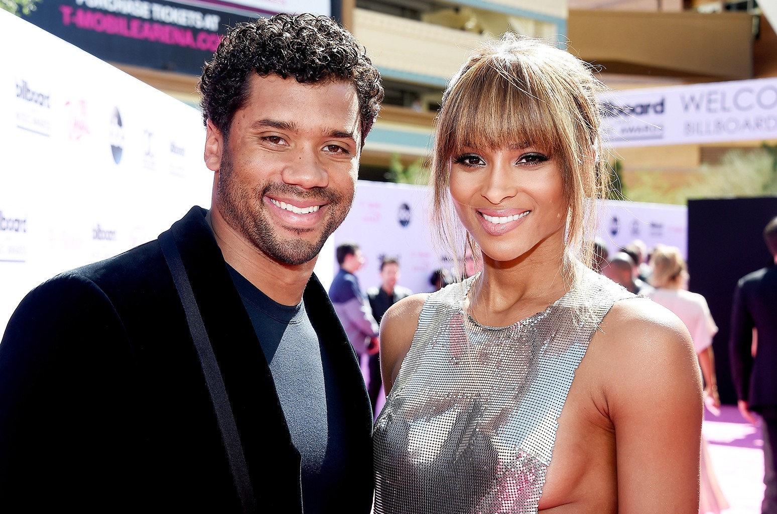 Ciara Russell Wilson Share First Wedding Pic We Are The Wilsons Billboard
