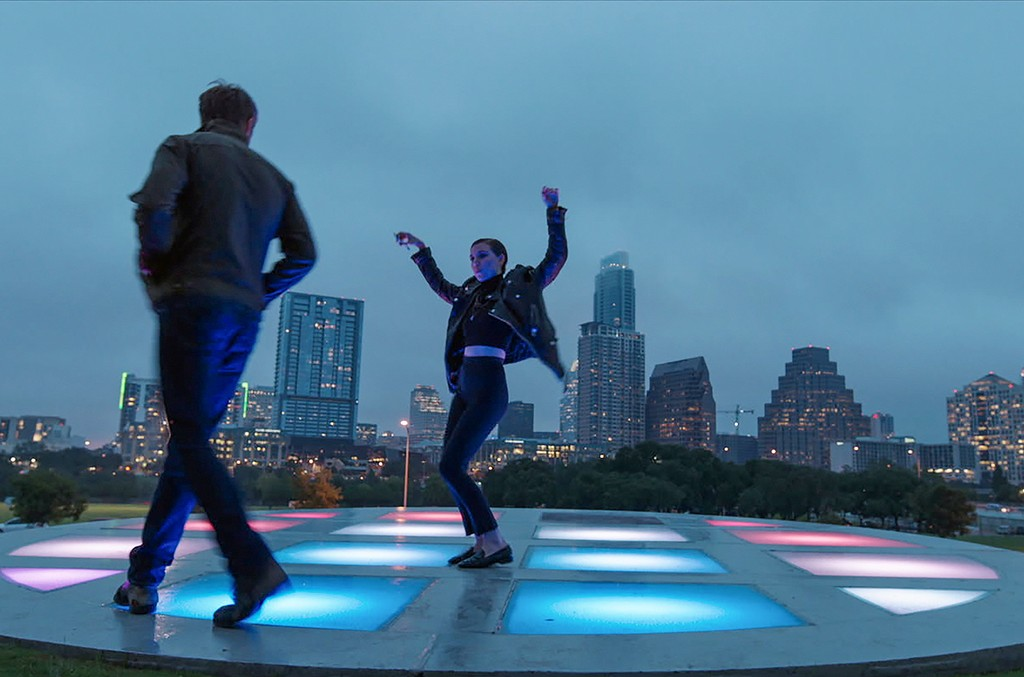 """Ryan Gosling as BV and Lykke Li as Lykke in Terrence Malick's """"Song to Song."""""""