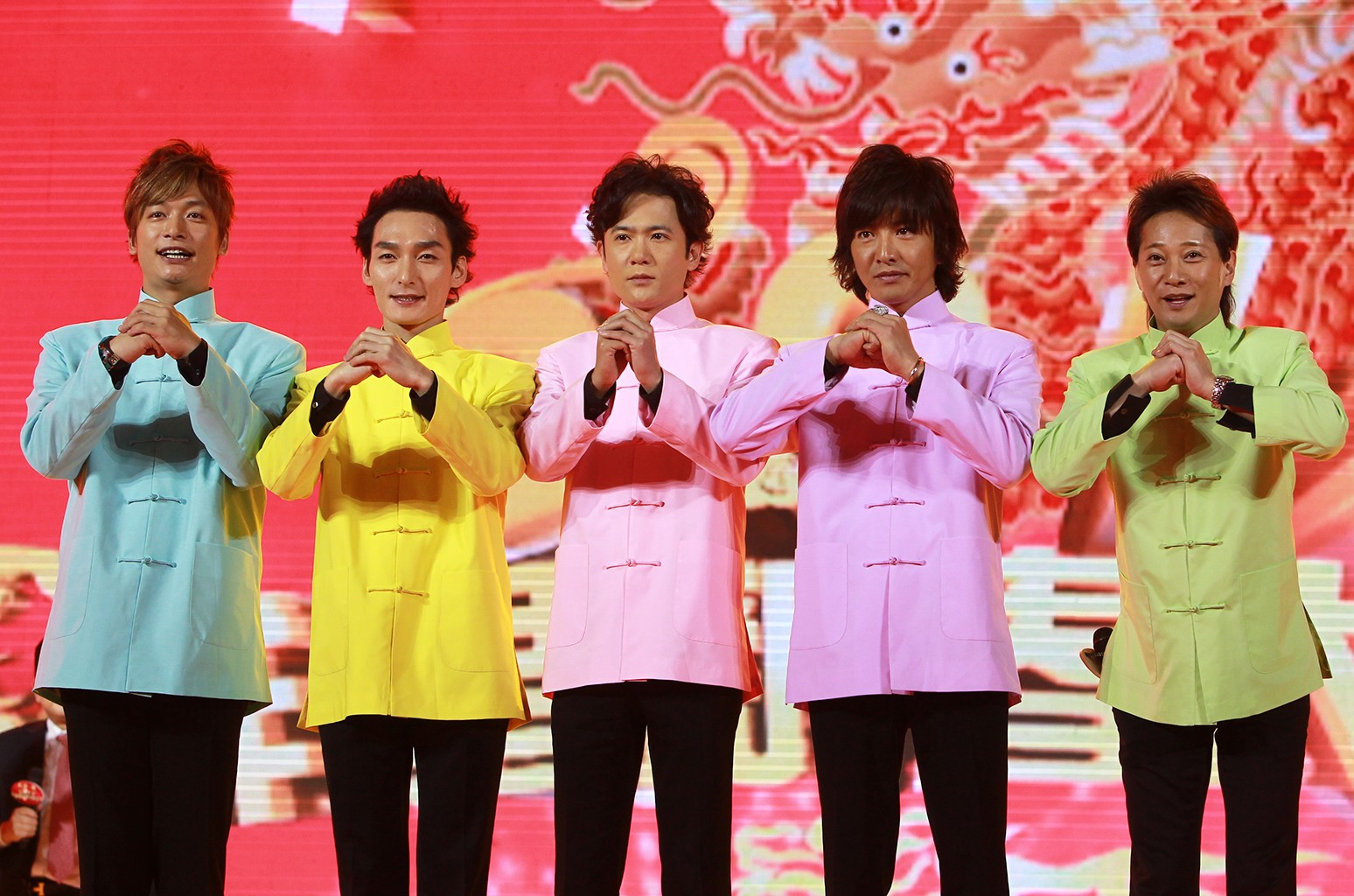 SMAP photographed in Shanghai