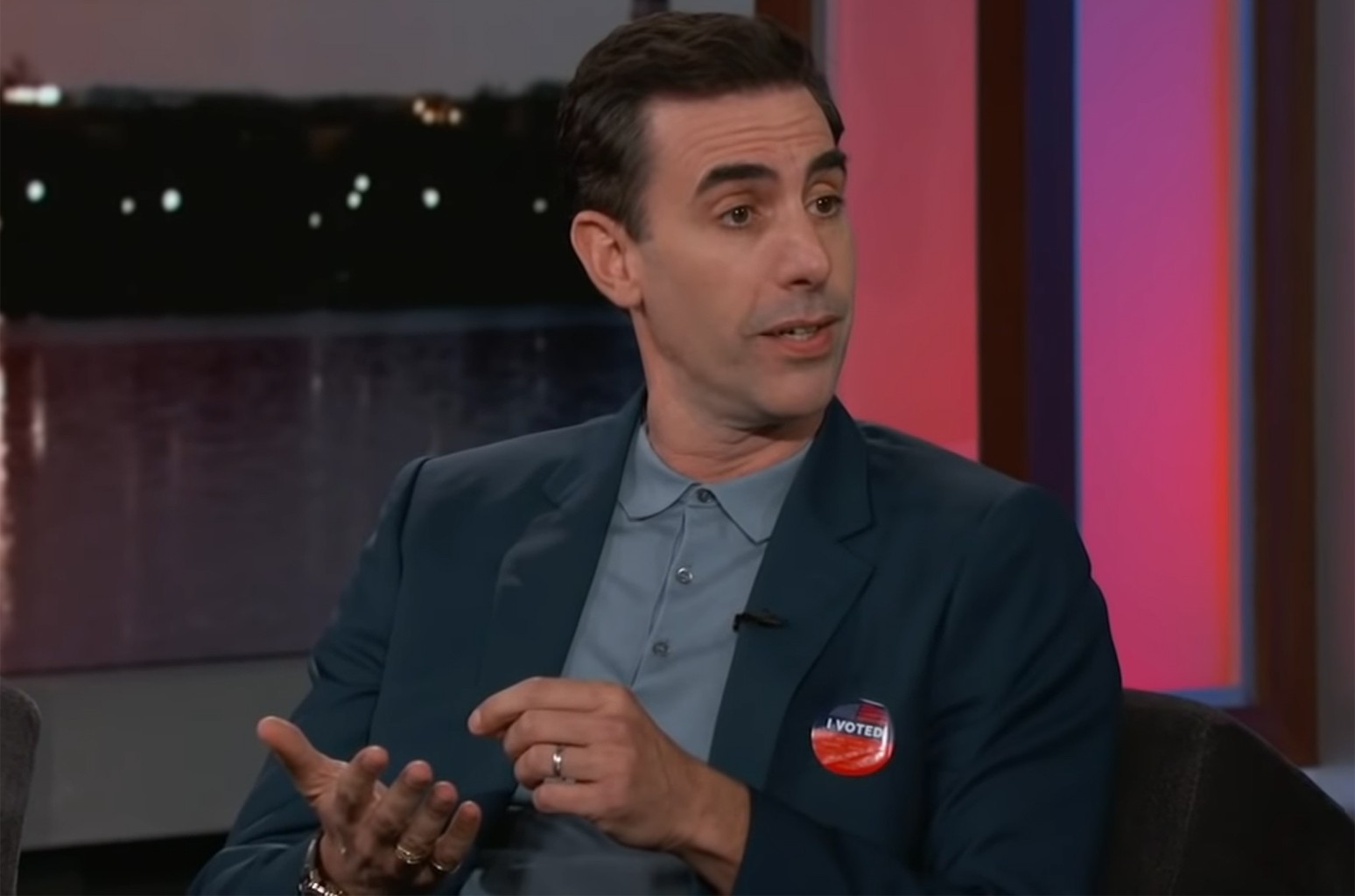 Sacha Baron Cohen on Jimmy Kimmel Live!
