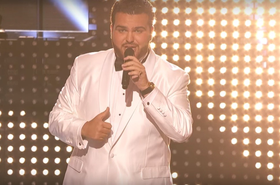"Sal Valentinetti sings One Direction's ""Story of My Life"" on ""America's Got Talent"""