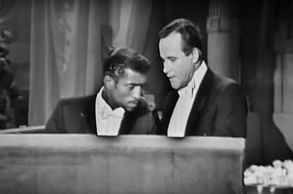 Sammy Davis Jr. presenting at the 36th Academy Awards in 1964.