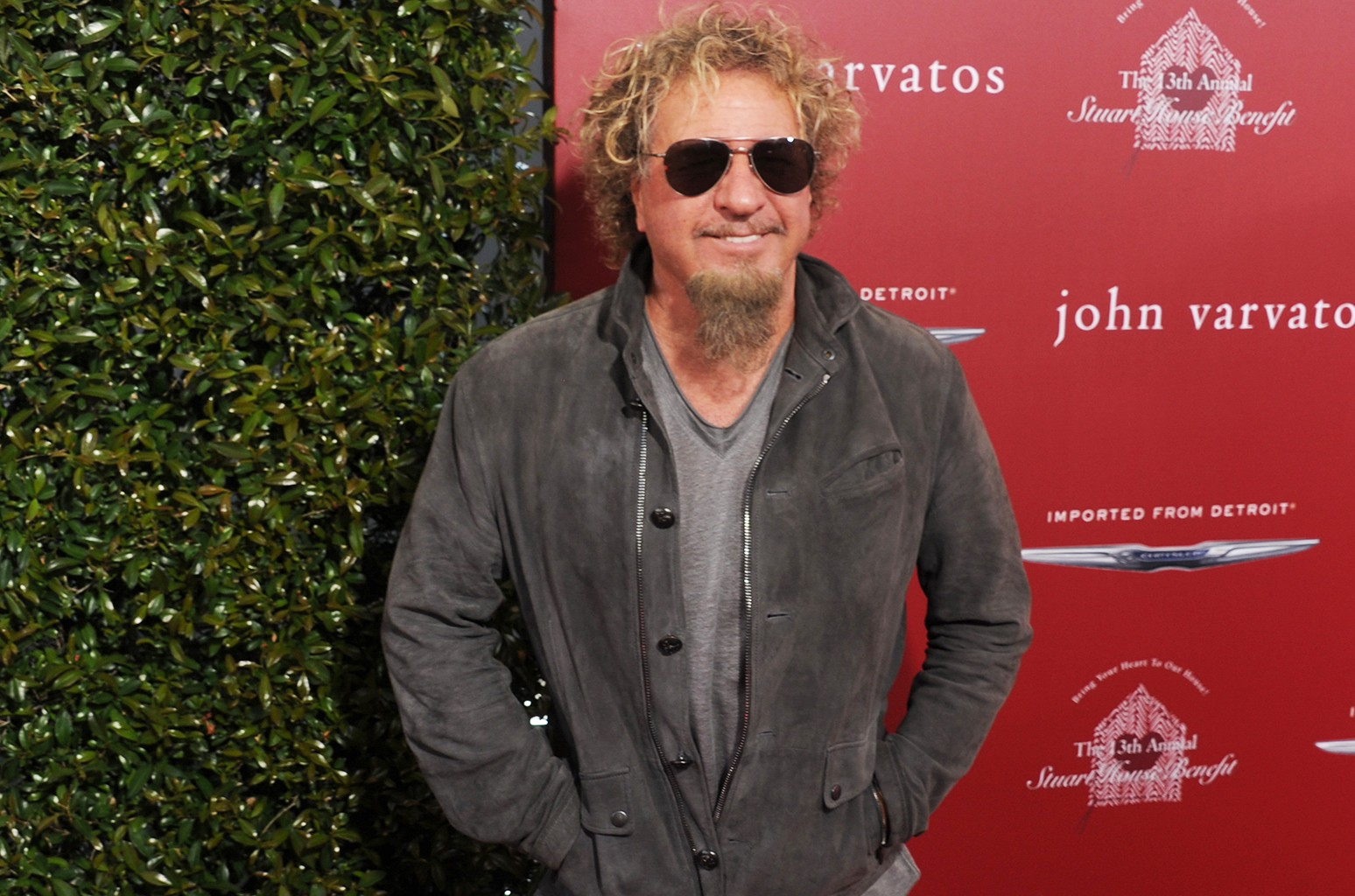 Sammy Hagar arrives at the 13th Annual Stuart House Benefit at John Varvatos on April 17, 2016 in Los Angeles.