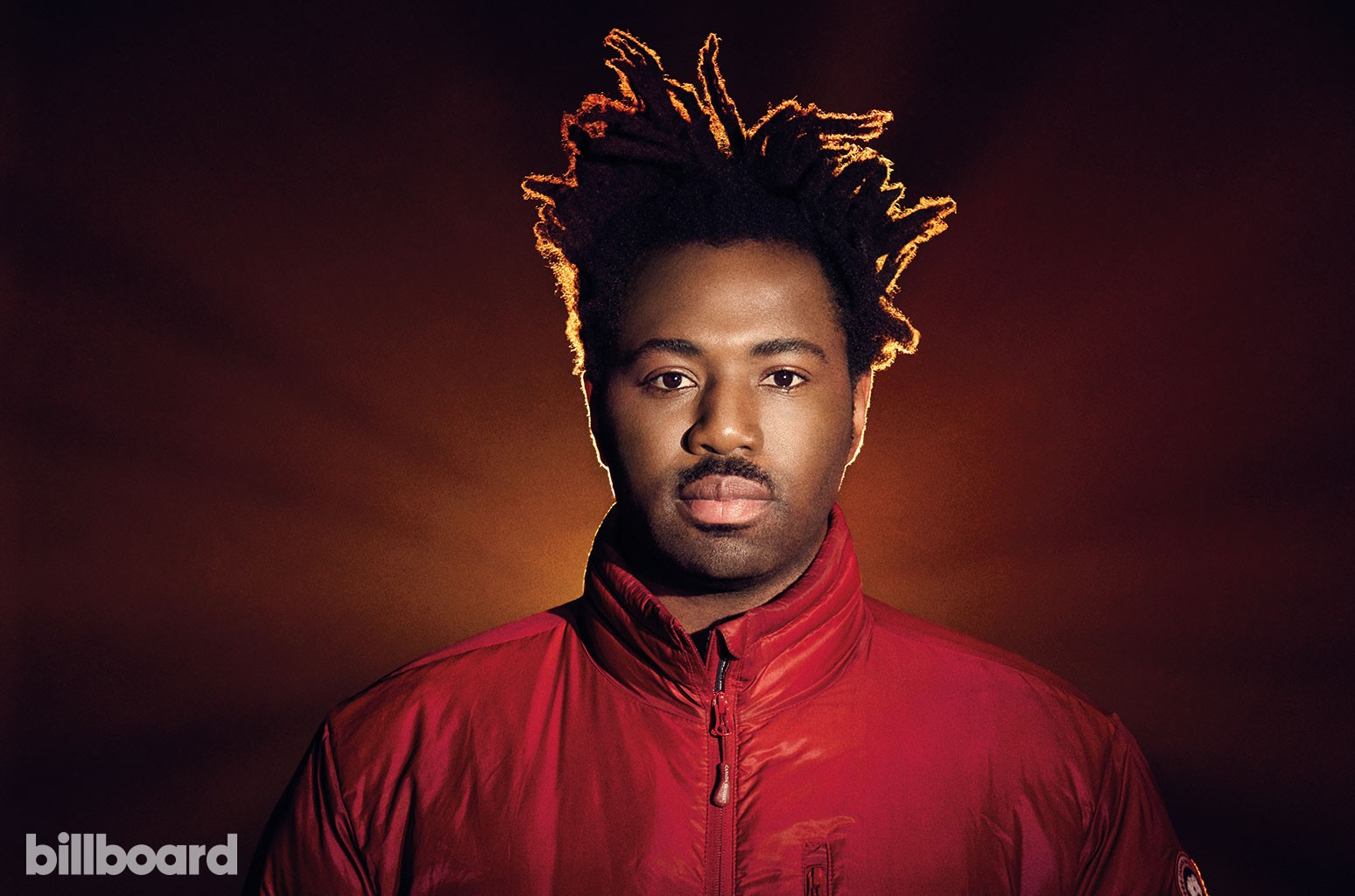 Sampha photographed Dec. 21, 2016, at Loft Studios in London.