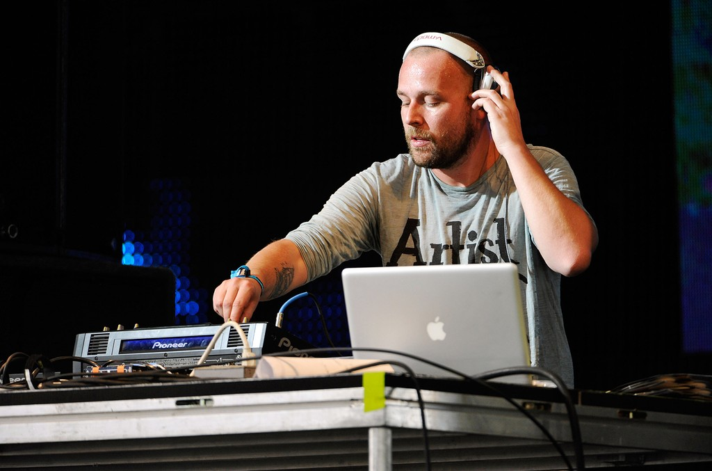 Sander Kleinenberg performs during Day 2 of the Coachella Valley Music & Arts Festival 2011 held at the Empire Polo Club on April 16, 2011 in Indio, Calif.