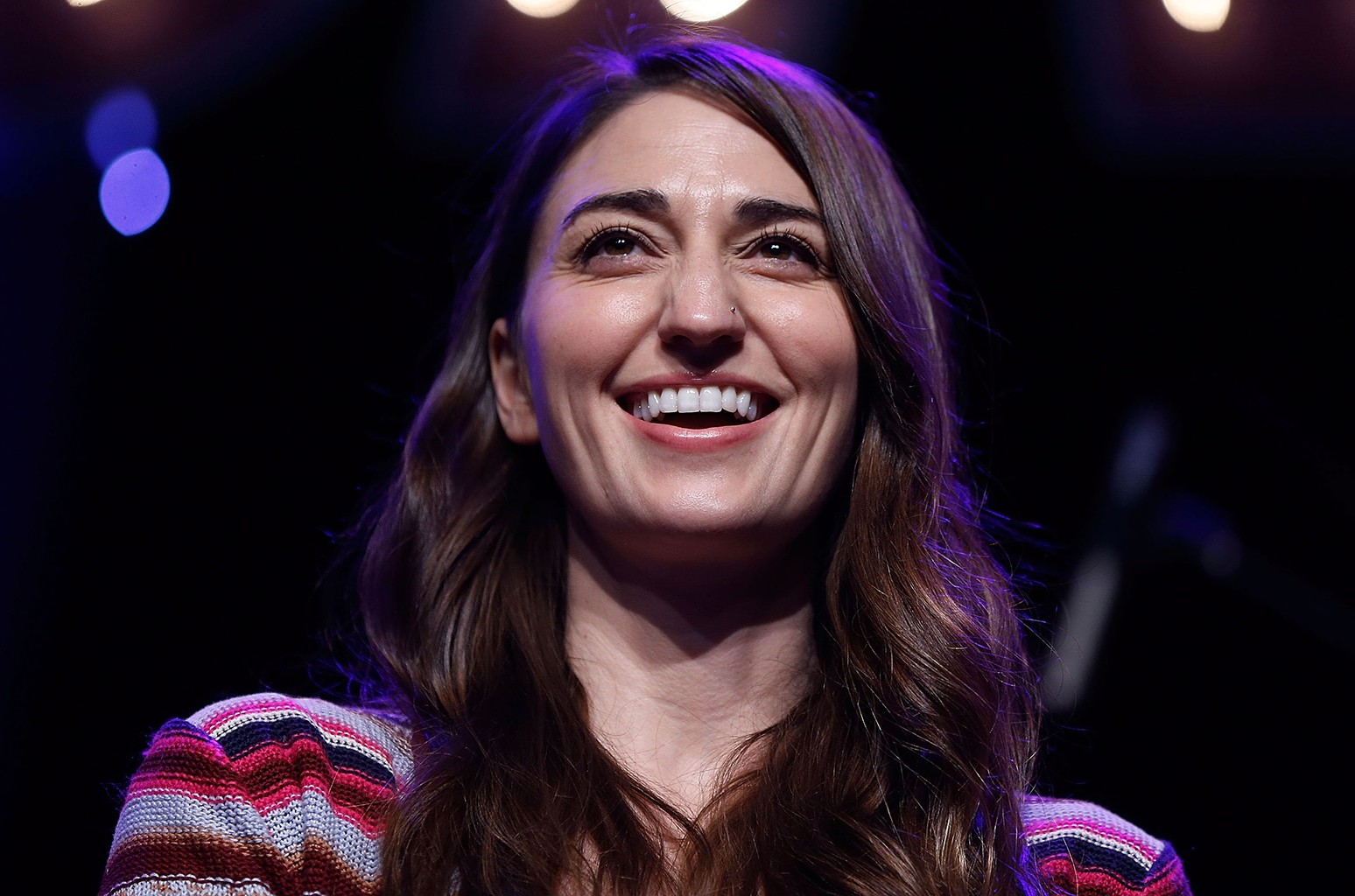 Sara Bareilles attends BroadwayCon 2016 at the Hilton Midtown on Jan. 24, 2016 in New York City.