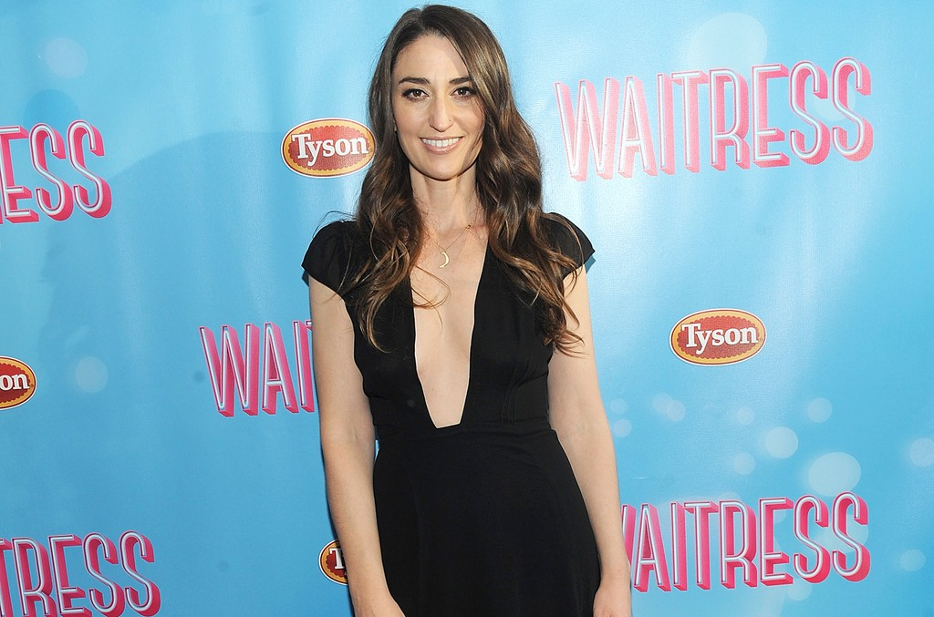 """Sara Bareilles attends """"Waitress"""" on Broadway at The Brooks Atkinson Theatre on April 24, 2016 in New York City."""