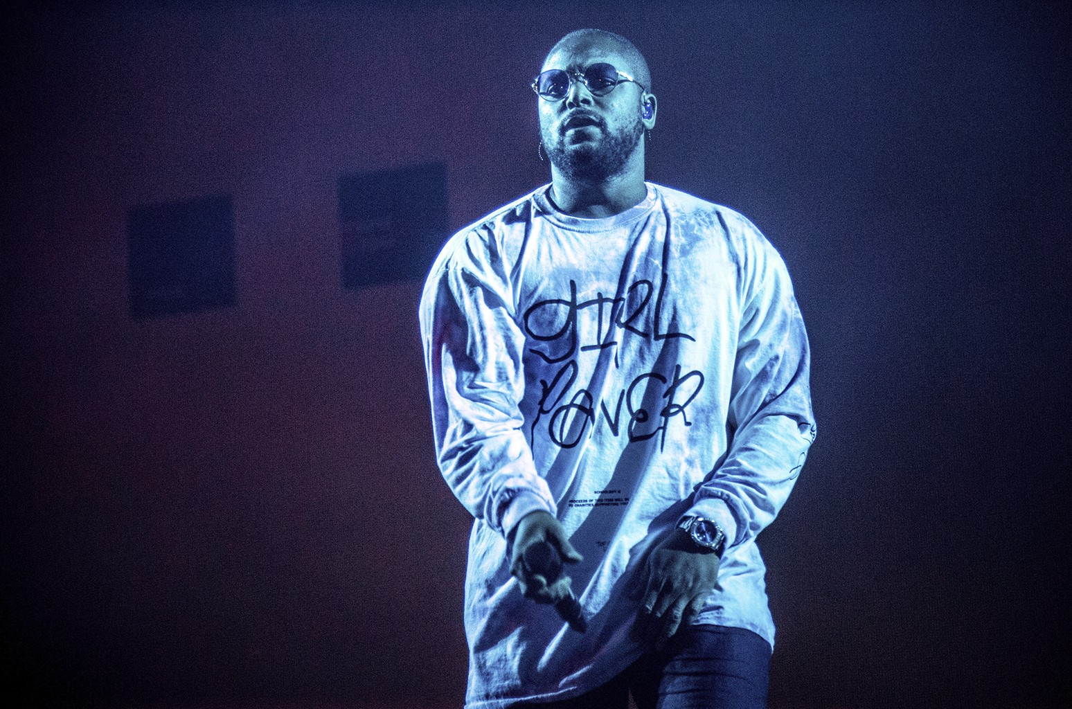 ScHoolboy Q performs at Coachella Music & Arts Festival at the Empire Polo Club on April 15, 2017 in Indio, Calif.