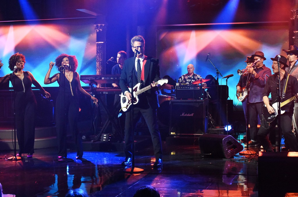 Scarborough on The Late Show with Stephen Colbert on July 11, 2017.