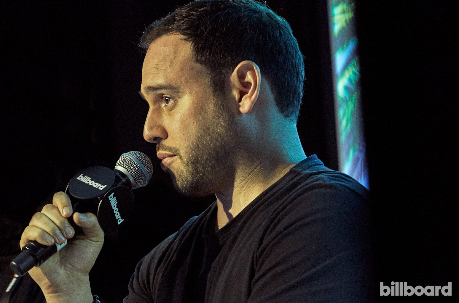 Scooter Braun (Scooter Braun Projects) at the Billboard Touring Conference & Awards on Nov. 9, 2016 in Beverly Hills, Calif.