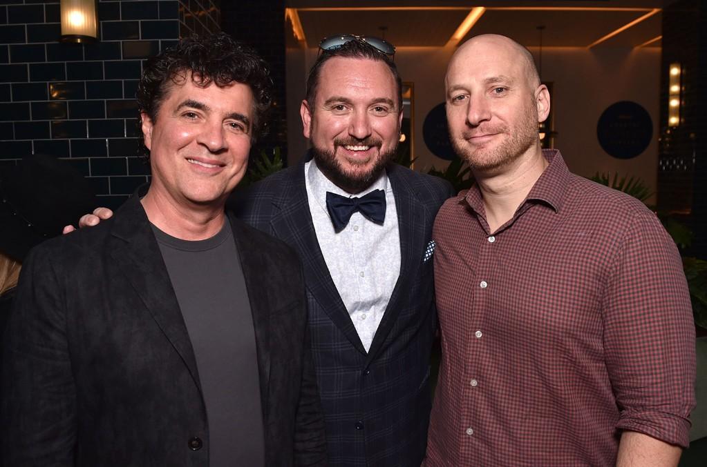 Scott Borchetta, JR Schumann and George Couri