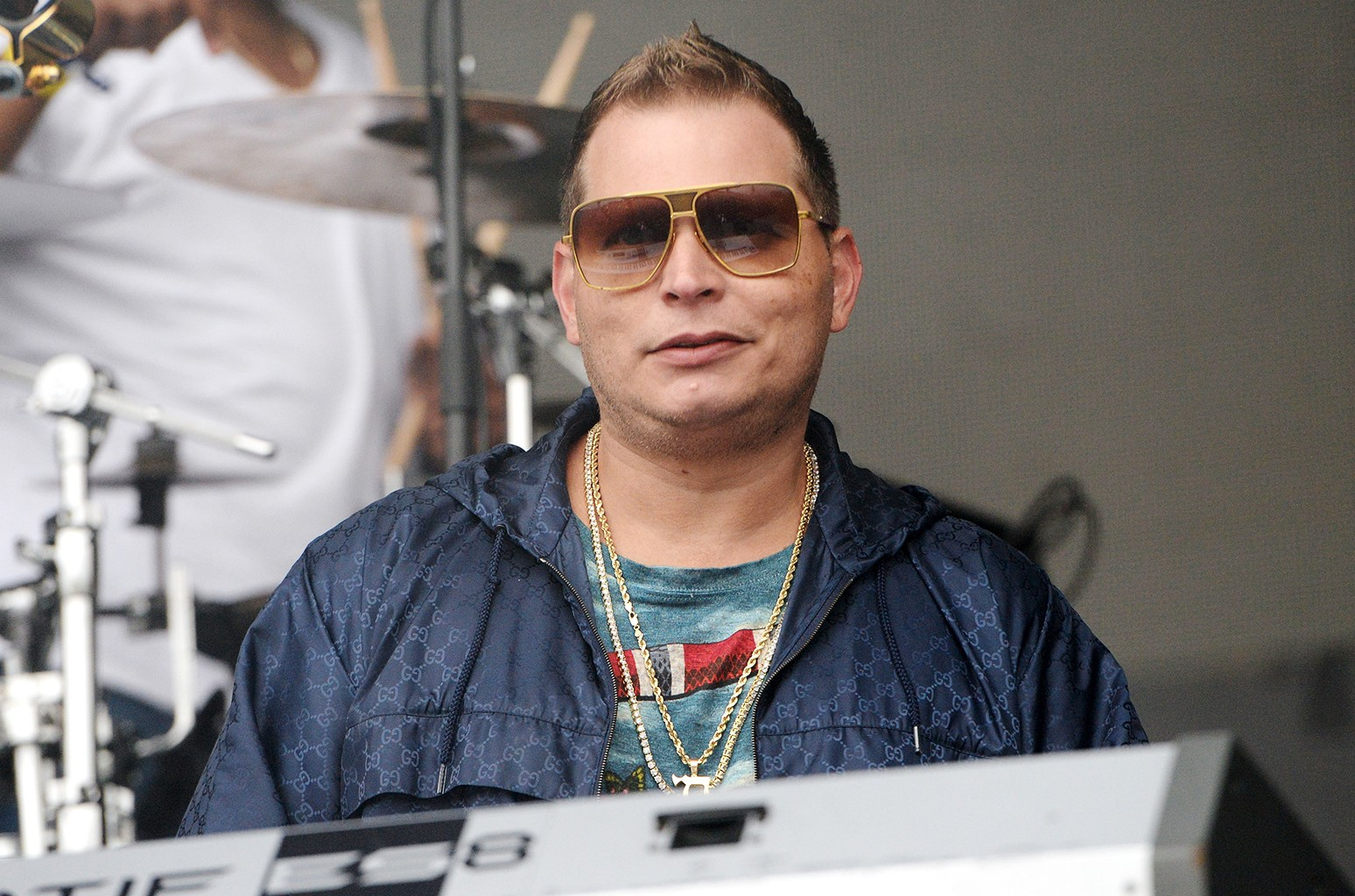 Producer Scott Storch performs onstage during Powerhouse 2017 at Glen Helen Amphitheatre on May 6, 2017 in San Bernardino, Calif.