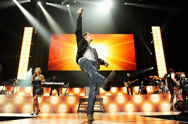 Scotty McCreery American Idols Live tour 2011