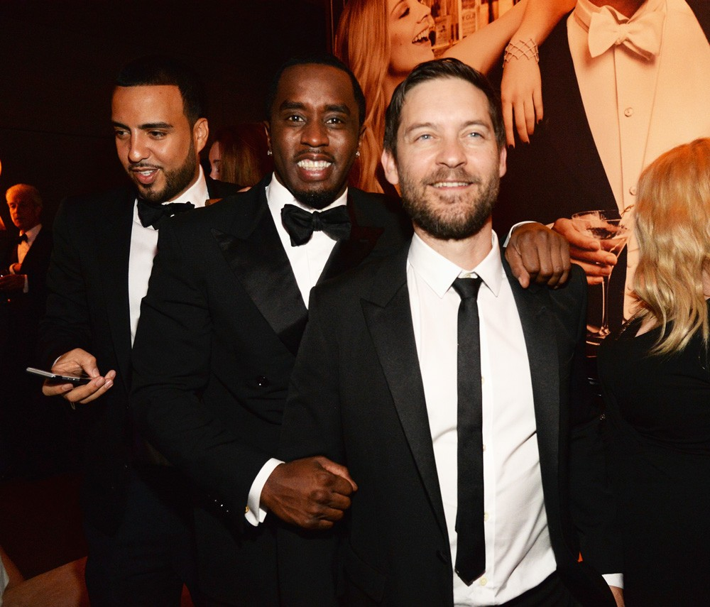 Sean Combs and Tobey Maguire