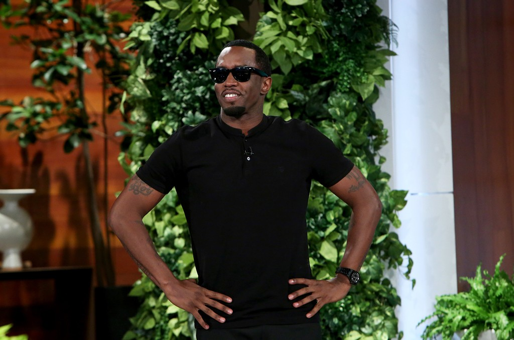 Sean Diddy Combs on The Ellen DeGeneres Show on Oct. 3, 2016.