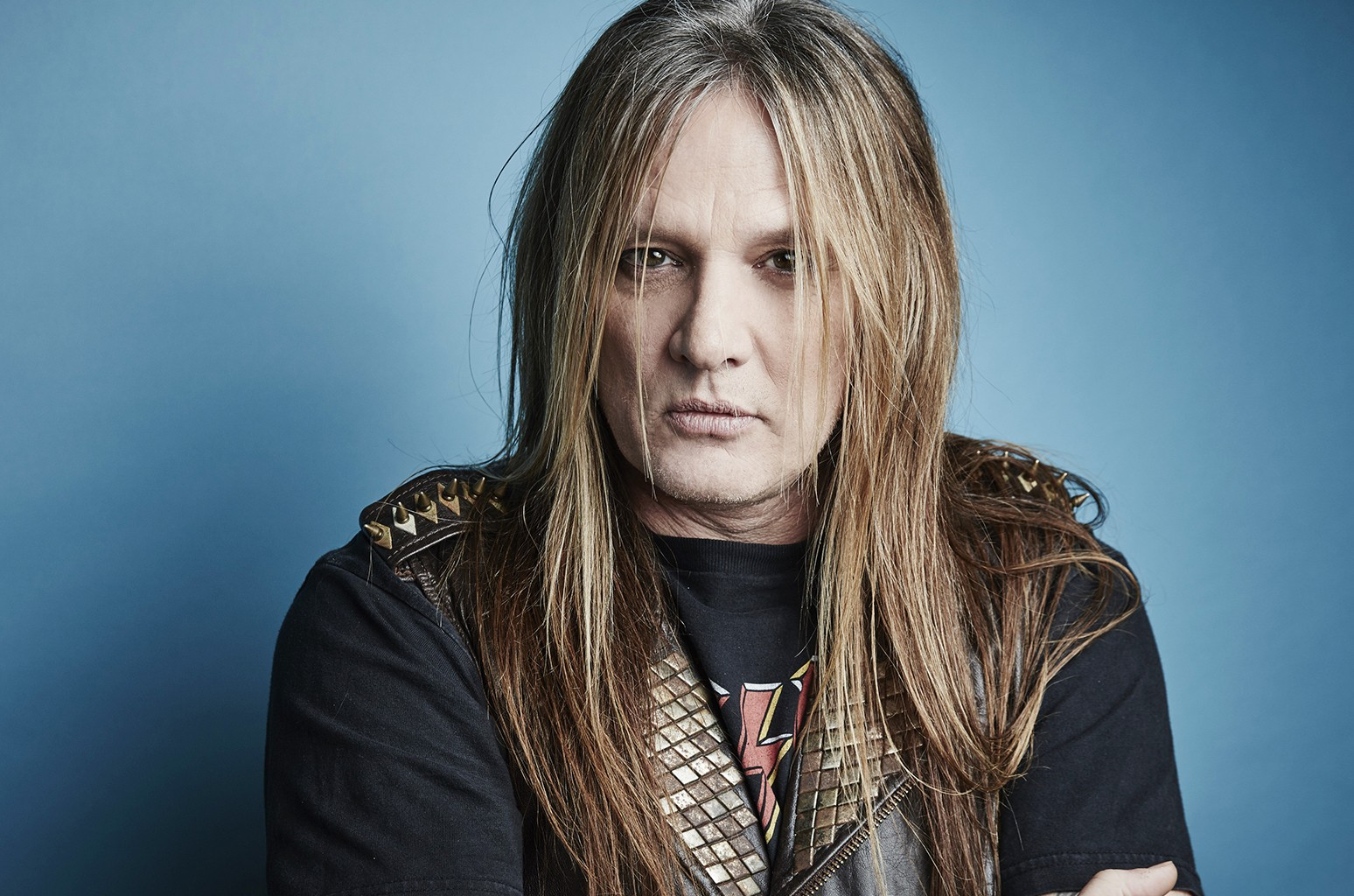 Sebastian Bach photographed in the Getty Images Portrait Studio at the 2016 Winter Television Critics Association press tour at the Langham Hotel on Jan. 8, 2016 in Pasadena, Calif.