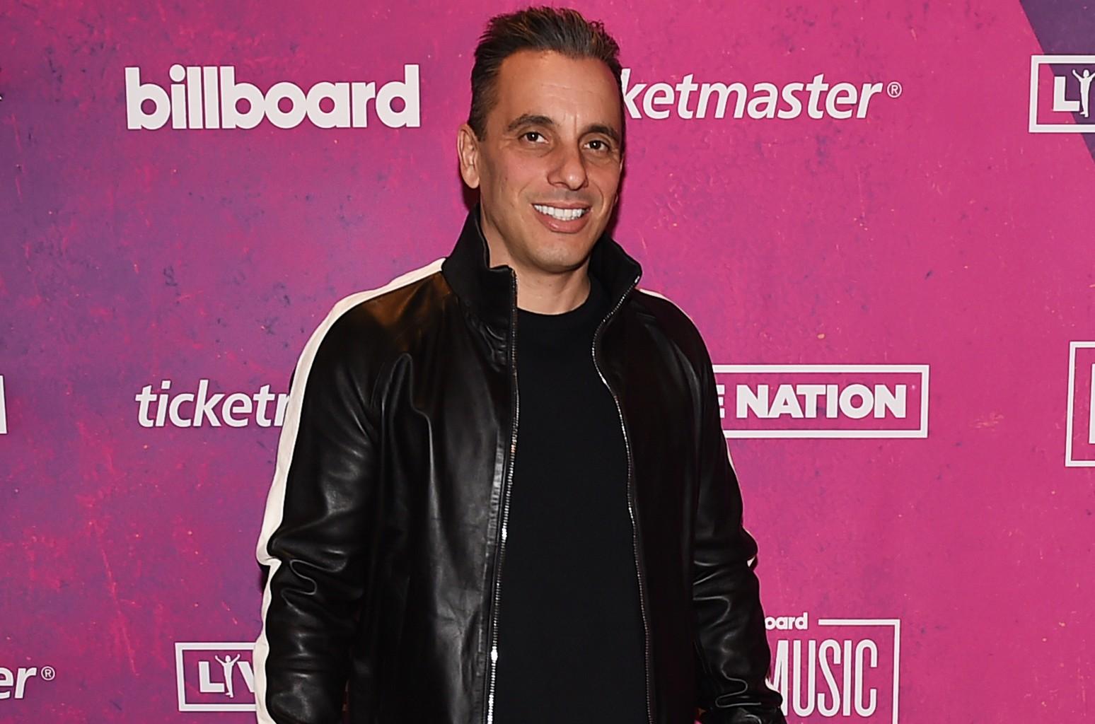 Sebastian Maniscalco photographed at the 2018 Billboard Live Music Summit + Awards at the Montage Beverly Hills on Nov. 14, 2018 in Beverly Hills, Calif.