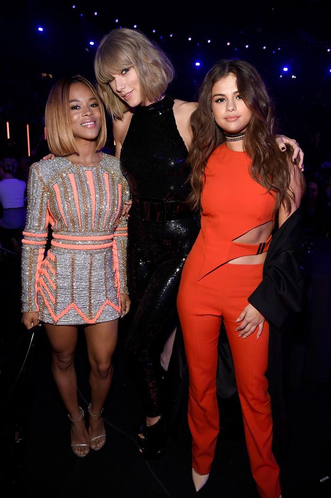 Serayah, Taylor Swift and Selena Gomez