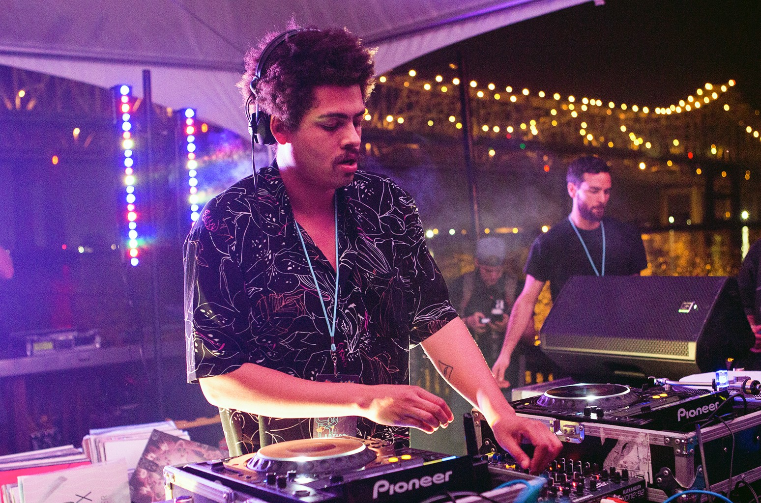 Seth Troxler performs in New Orleans.