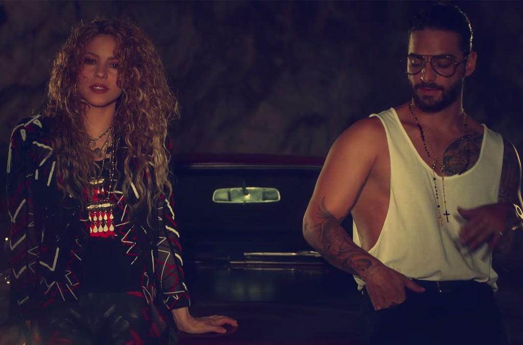 "Shakira and Maluma ""Clandestino"""