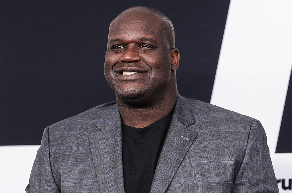 Shaquille O'Neal attends the 2017 Turner Upfront at Madison Square Garden on May 17, 2017 in New York City.