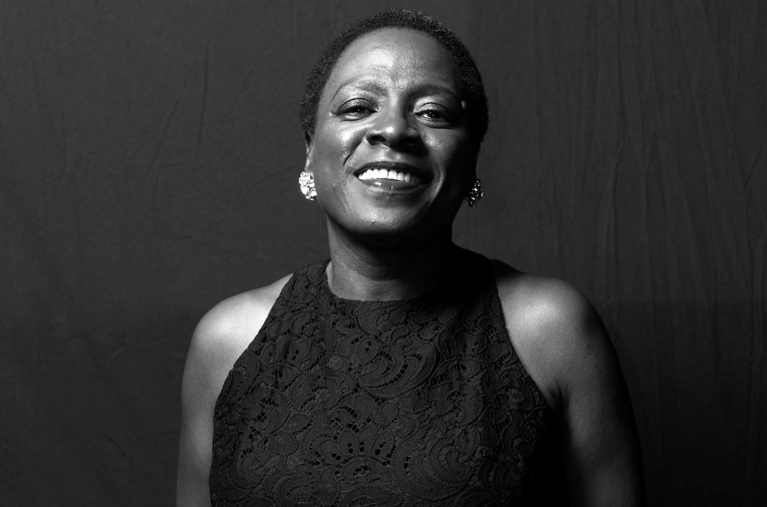 Sharon Jones of Sharon Jones & the Dap-Kings poses for a portrait backstage at  day 1 of the AFROPUNK festival at Commodore Barry Park on Aug. 23, 2014 in Brooklyn.