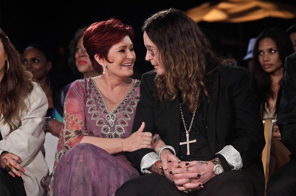 Sharon Osbourne and Ozzy Osbourne, 2011