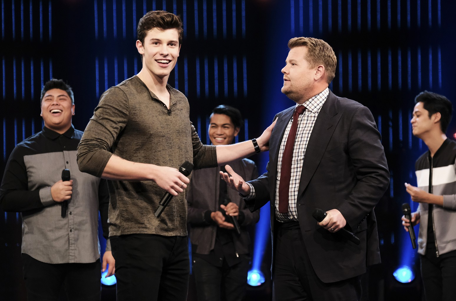 Shawn Mendes & James Corden