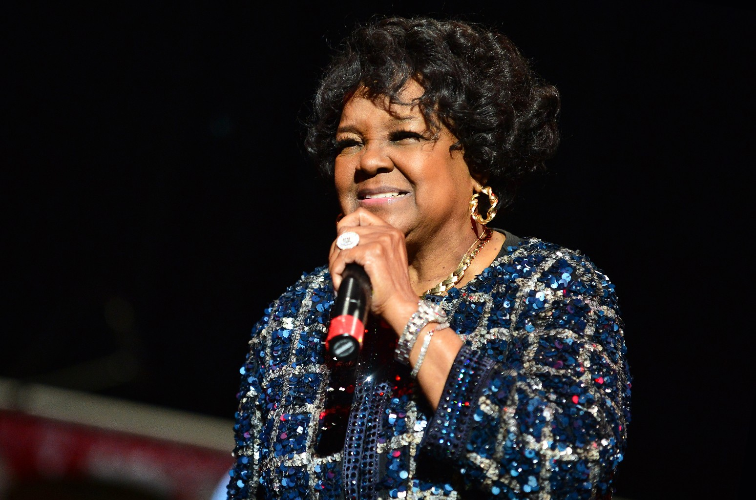 Shirley Caesar performs in 2016