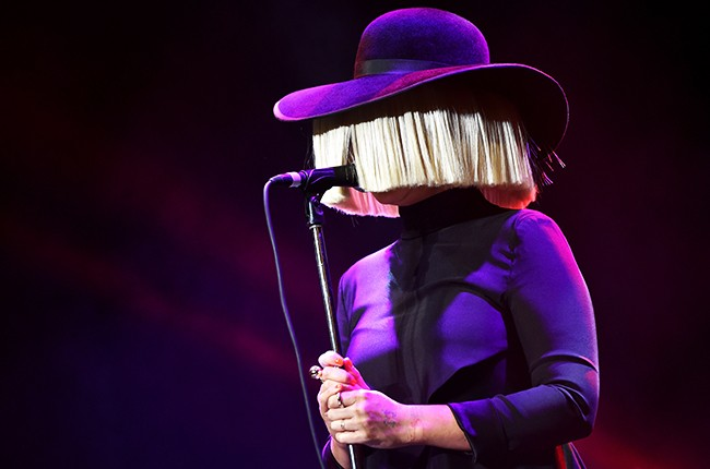 Sia performs at An Evening with Women benefiting the Los Angeles LGBT Center
