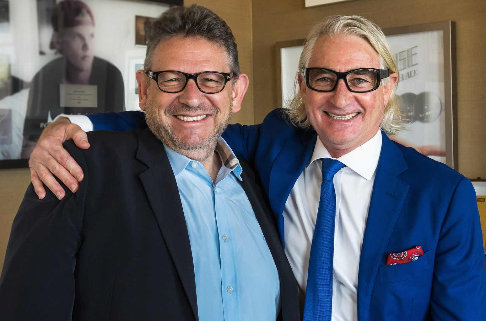 Lucian Grainge and Chris Murphy