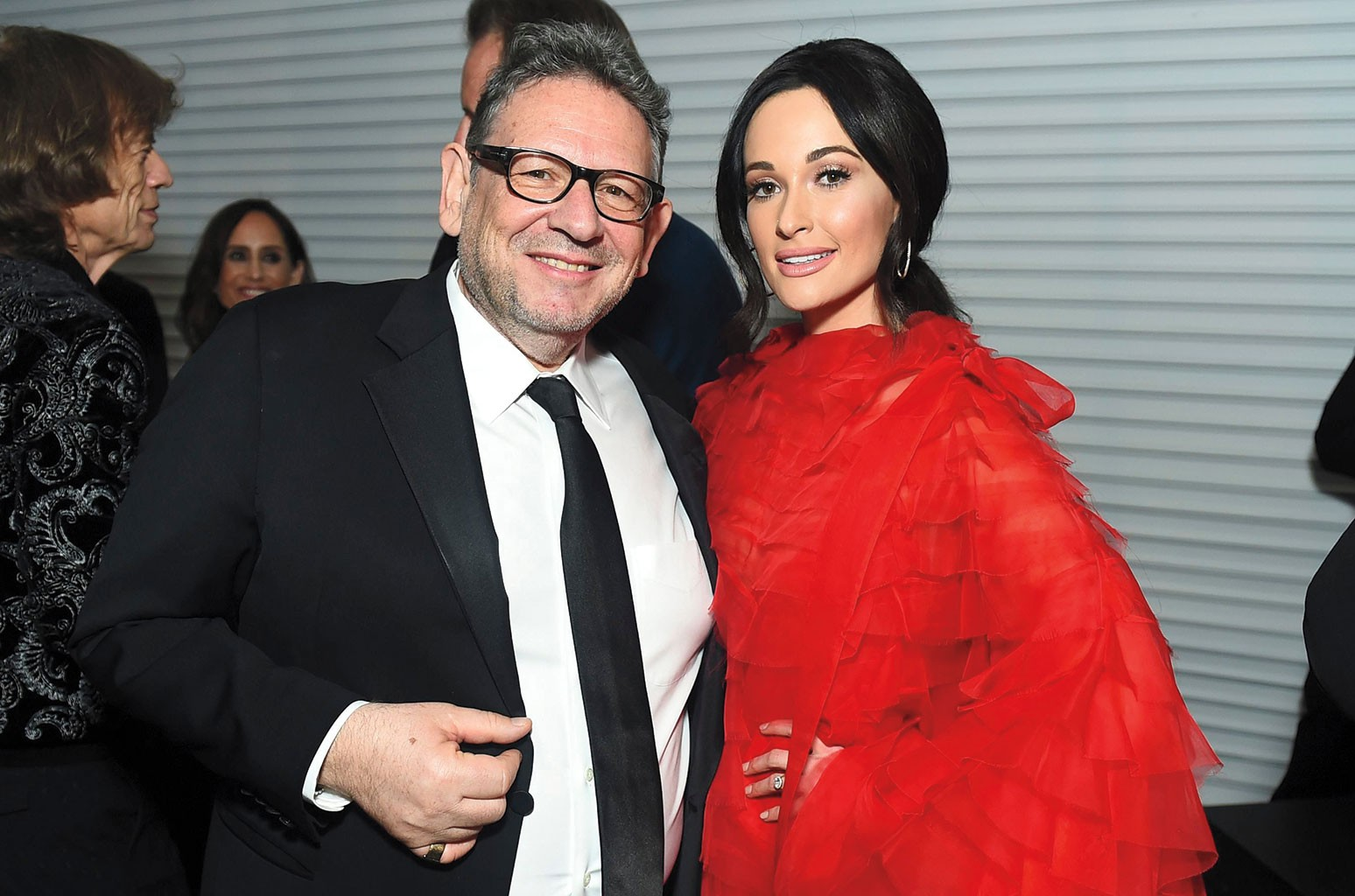Grainge with Kacey Musgraves.